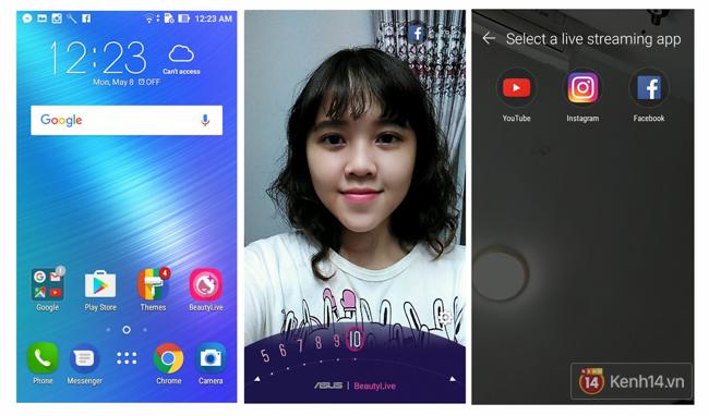 Trên tay Zenfone Live, smartphone giúp livestream xinh lung linh mà bạn phải thích mê - Ảnh 12.