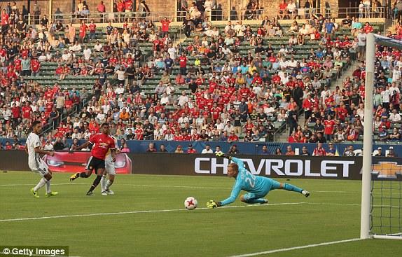 Man Utd đại thắng trong trận ra quân trên đất Mỹ - Ảnh 4.