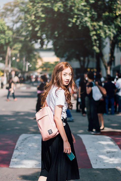 Nữ sinh Thái Lan nổi tiếng vì có gương mặt giống Yoona (SNSD) - ảnh 11