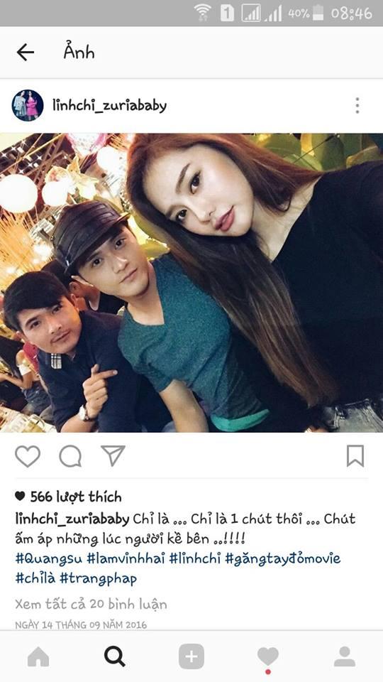 Loạt bằng chứng cho thấy Lâm Vinh Hải hiện đang hẹn hò cùng Linh Chi - Ảnh 6.