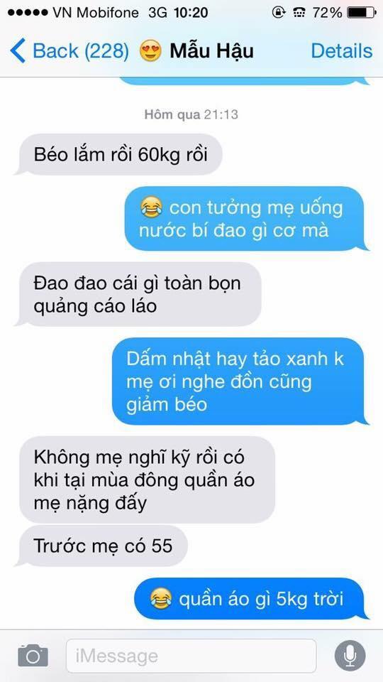 Hot nhất Facebook hôm nay: Chùm tin nhắn với con trai của bà mẹ Việt bá đạo nhất trái đất! - Ảnh 16.