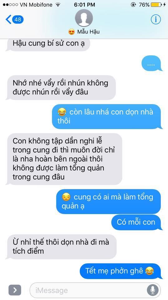 Hot nhất Facebook hôm nay: Chùm tin nhắn với con trai của bà mẹ Việt bá đạo nhất trái đất! - Ảnh 28.