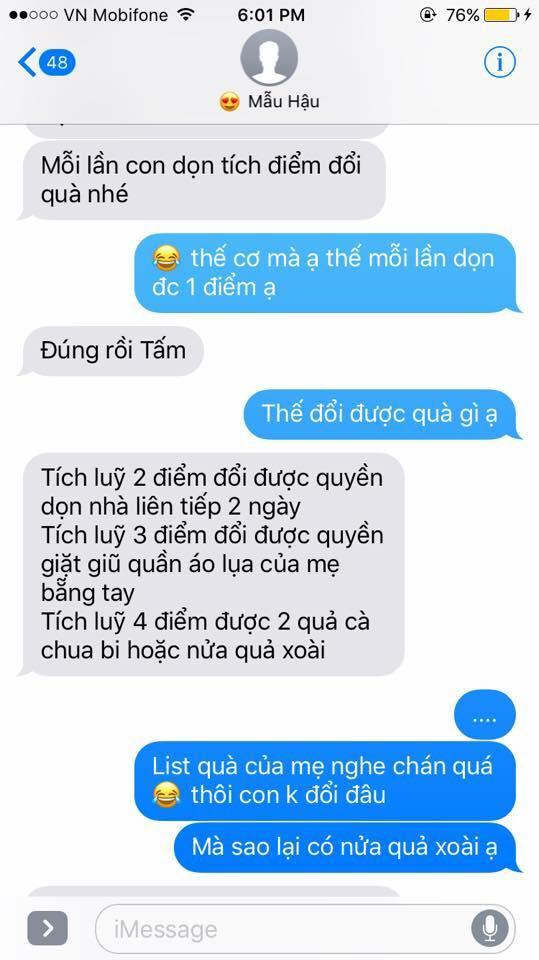 Hot nhất Facebook hôm nay: Chùm tin nhắn với con trai của bà mẹ Việt bá đạo nhất trái đất! - Ảnh 26.