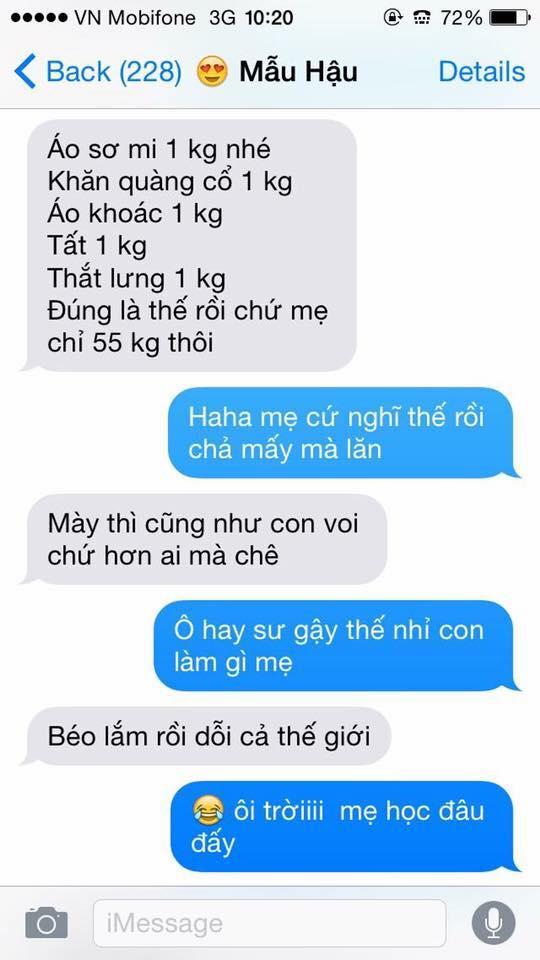 Hot nhất Facebook hôm nay: Chùm tin nhắn với con trai của bà mẹ Việt bá đạo nhất trái đất! - Ảnh 17.