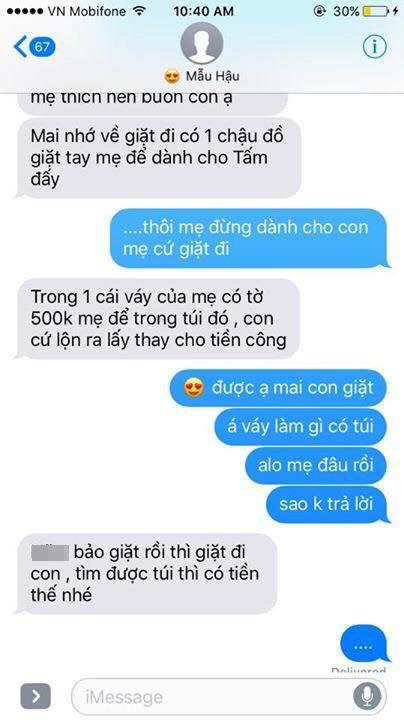Hot nhất Facebook hôm nay: Chùm tin nhắn với con trai của bà mẹ Việt bá đạo nhất trái đất! - Ảnh 23.