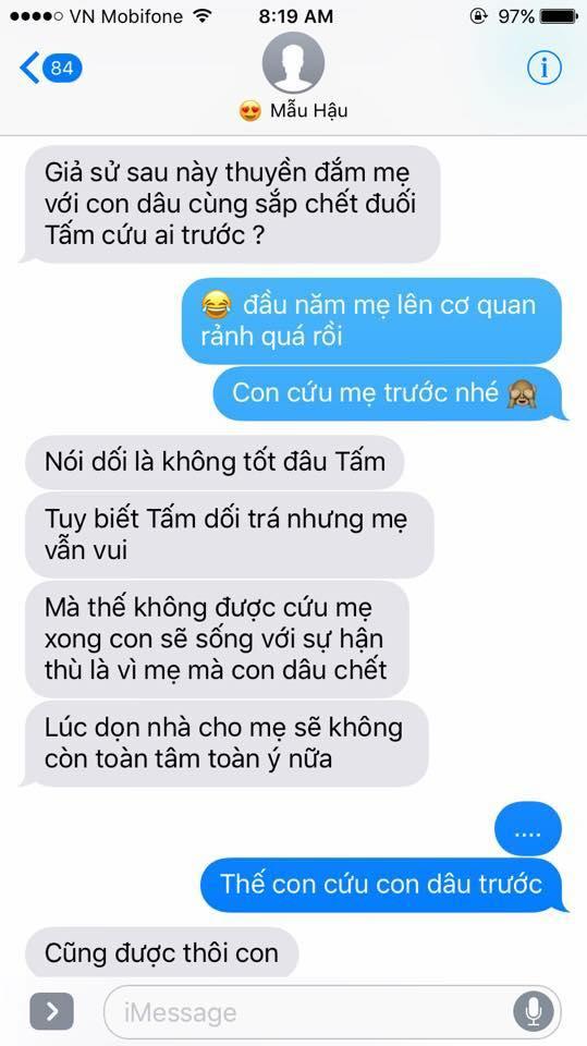 Hot nhất Facebook hôm nay: Chùm tin nhắn với con trai của bà mẹ Việt bá đạo nhất trái đất! - Ảnh 32.
