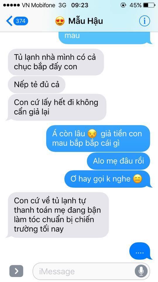 Hot nhất Facebook hôm nay: Chùm tin nhắn với con trai của bà mẹ Việt bá đạo nhất trái đất! - Ảnh 14.