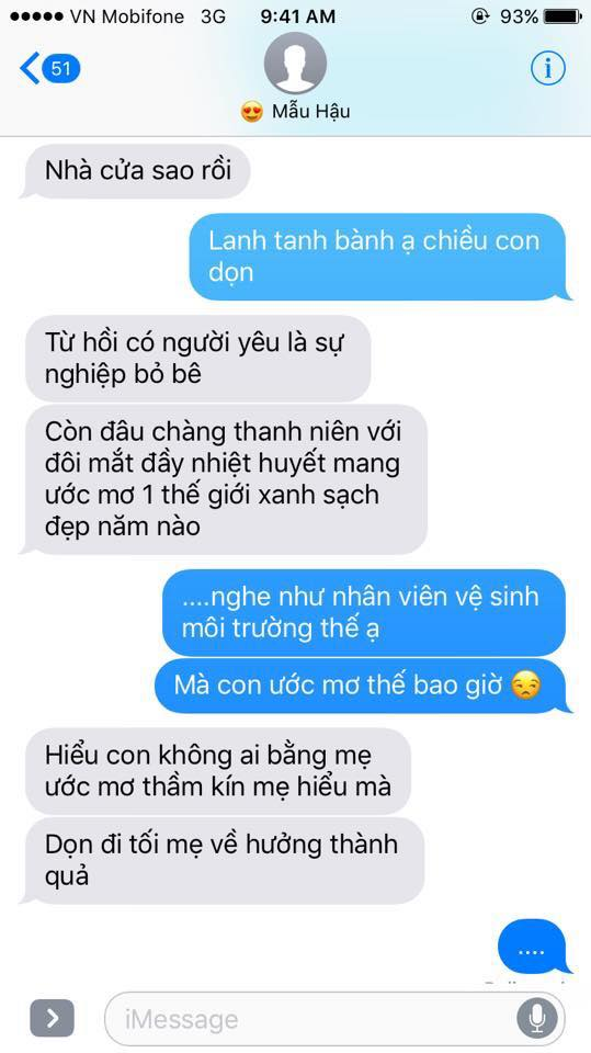 Hot nhất Facebook hôm nay: Chùm tin nhắn với con trai của bà mẹ Việt bá đạo nhất trái đất! - Ảnh 30.
