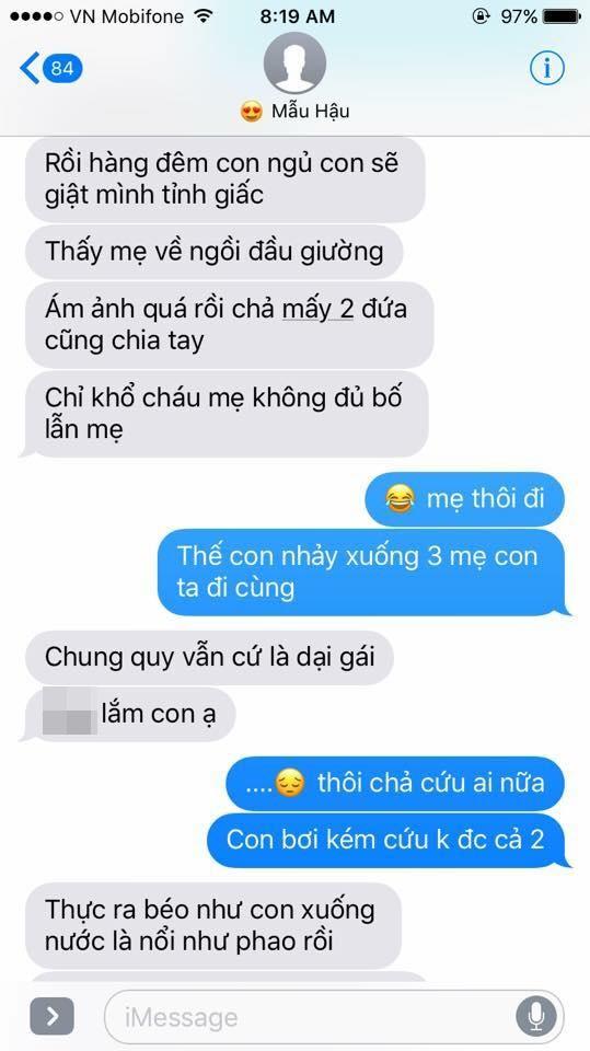 Hot nhất Facebook hôm nay: Chùm tin nhắn với con trai của bà mẹ Việt bá đạo nhất trái đất! - Ảnh 33.