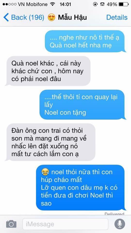 Hot nhất Facebook hôm nay: Chùm tin nhắn với con trai của bà mẹ Việt bá đạo nhất trái đất! - Ảnh 6.