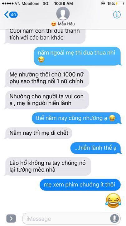 Hot nhất Facebook hôm nay: Chùm tin nhắn với con trai của bà mẹ Việt bá đạo nhất trái đất! - Ảnh 11.