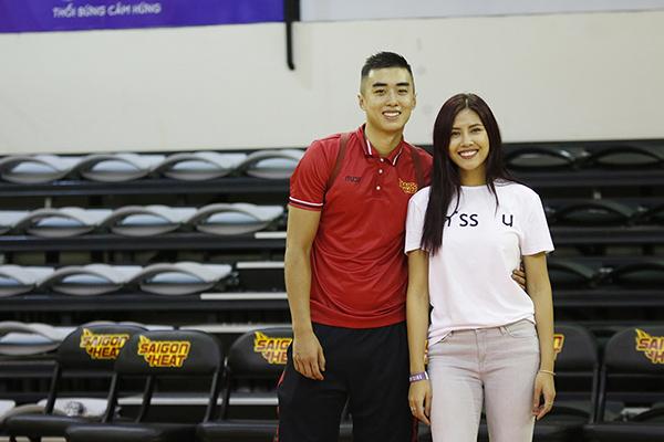 Nguyễn Thị Loan hẹn hò ngôi sao của bóng rổ Việt Nam  - Ảnh 4.