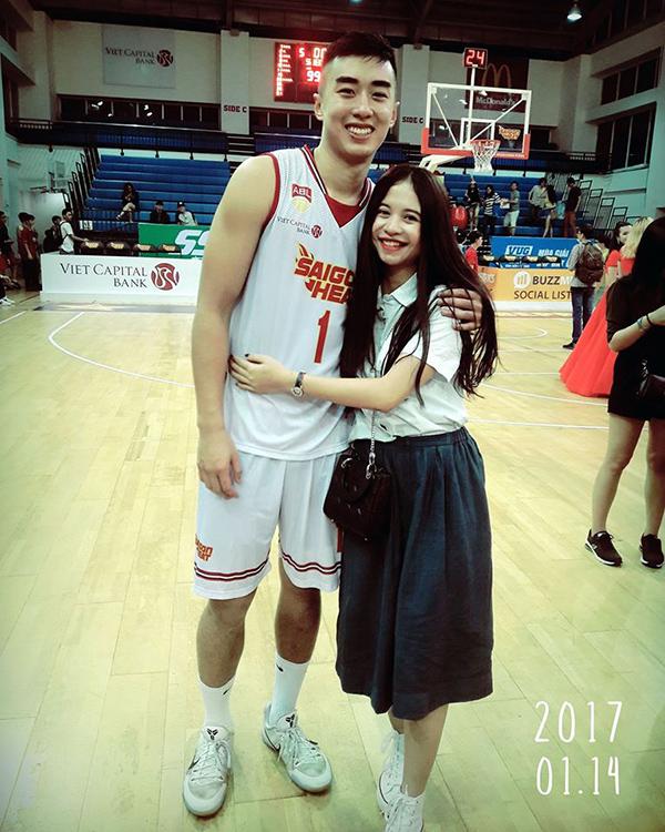 Nguyễn Thị Loan hẹn hò ngôi sao của bóng rổ Việt Nam  - Ảnh 6.