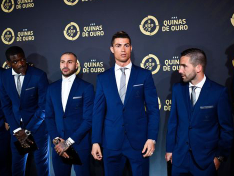 Ronaldo lại được vinh danh nhờ năm vàng 2016 - ảnh 1