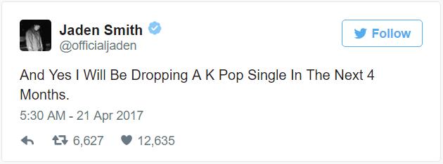 Jaden Smith chuẩn bị tung single Kpop, ra mắt như một idol - Ảnh 2.
