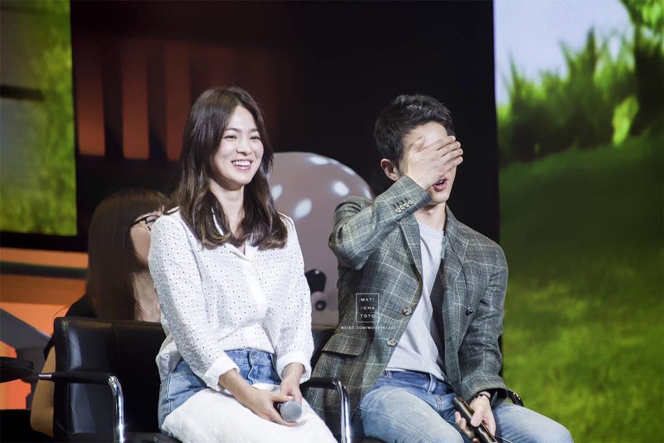 Sao Hàn: Ngất ngây vì cặp đôi Song Joong Ki - Song Hye Kyo, fan Trung quyết tung loạt ảnh