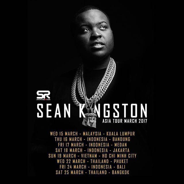 """""""Bé bự"""" Sean Kingston chuẩn bị tổ chức show diễn tại Việt Nam vào ngày 19/3"""