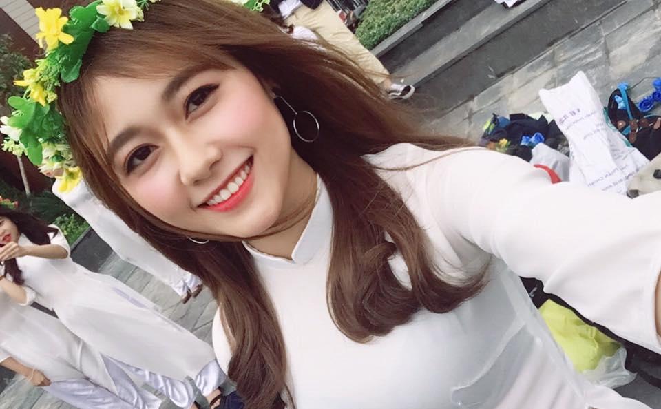 Sao Trẻ: Nữ sinh ĐH Xây Dựng Hà Nội bất ngờ nổi tiếng vì quá xinh đẹp như hot girl