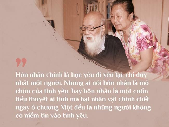 Cách vợ chồng thầy Văn Như Cương ở bên nhau trong những phút yếu mệt: 80 tuổi thì tình yêu cũng vẫn mãi xanh! - Ảnh 6.
