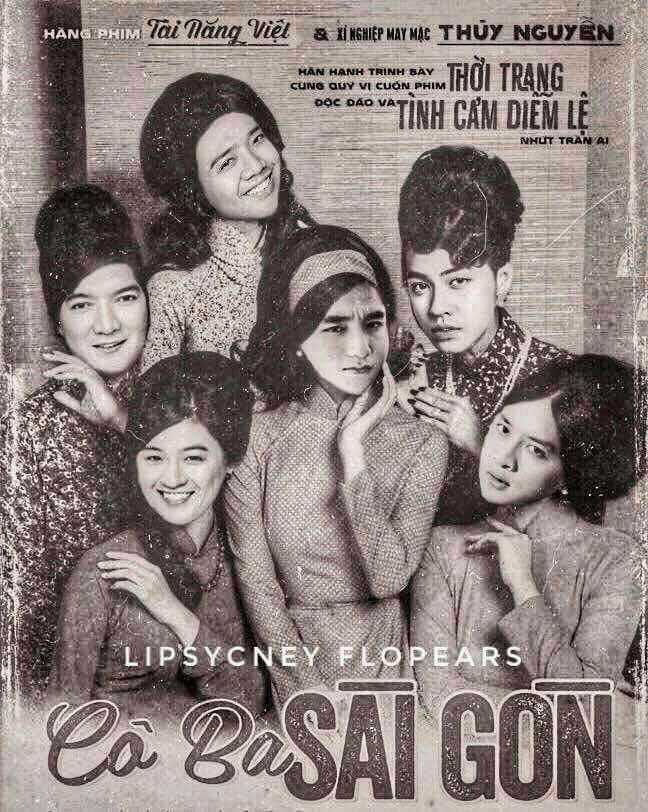Không phải chờ lâu, dân mạng đã ngập tràn ảnh chế poster Cô ba Sài Gòn - Ảnh 2.