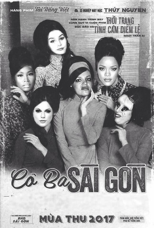 Không phải chờ lâu, dân mạng đã ngập tràn ảnh chế poster Cô ba Sài Gòn - Ảnh 9.