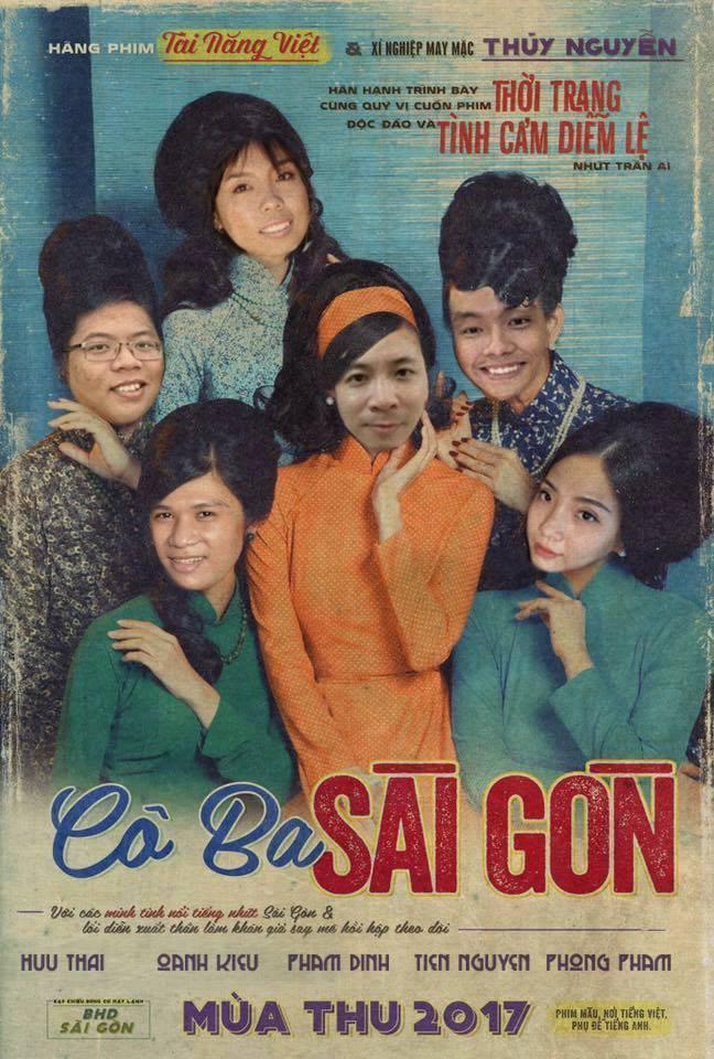 Không phải chờ lâu, dân mạng đã ngập tràn ảnh chế poster Cô ba Sài Gòn - Ảnh 3.