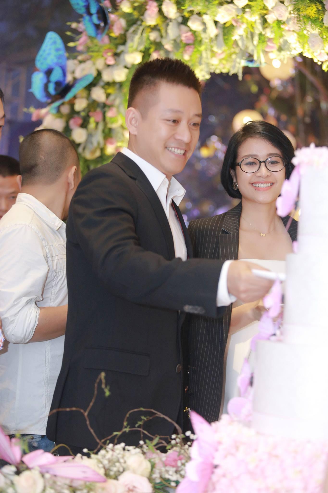 Sao Việt: Dàn sao Việt tấp nập đến mừng đám cưới MC Thành Trung