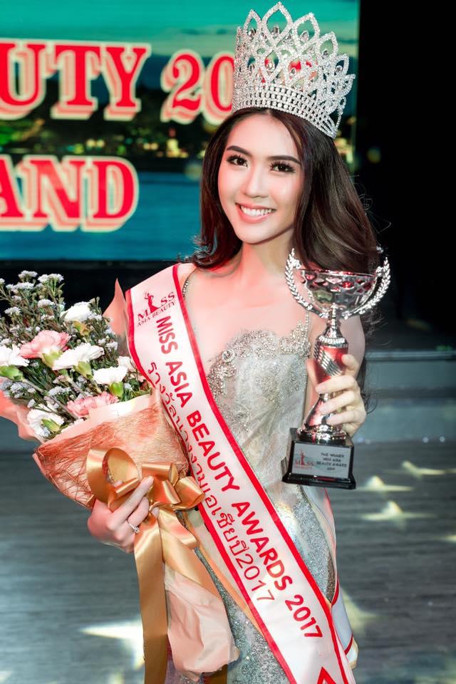 Cử nhân Học viện Hàng không Việt Nam đăng quang người đẹp châu Á - Ảnh 1.
