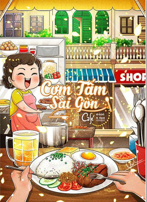 Sài Gòn sẽ thế nào khi được vẽ chibi? Cực đáng yêu chứ sao nữa! - ảnh 2