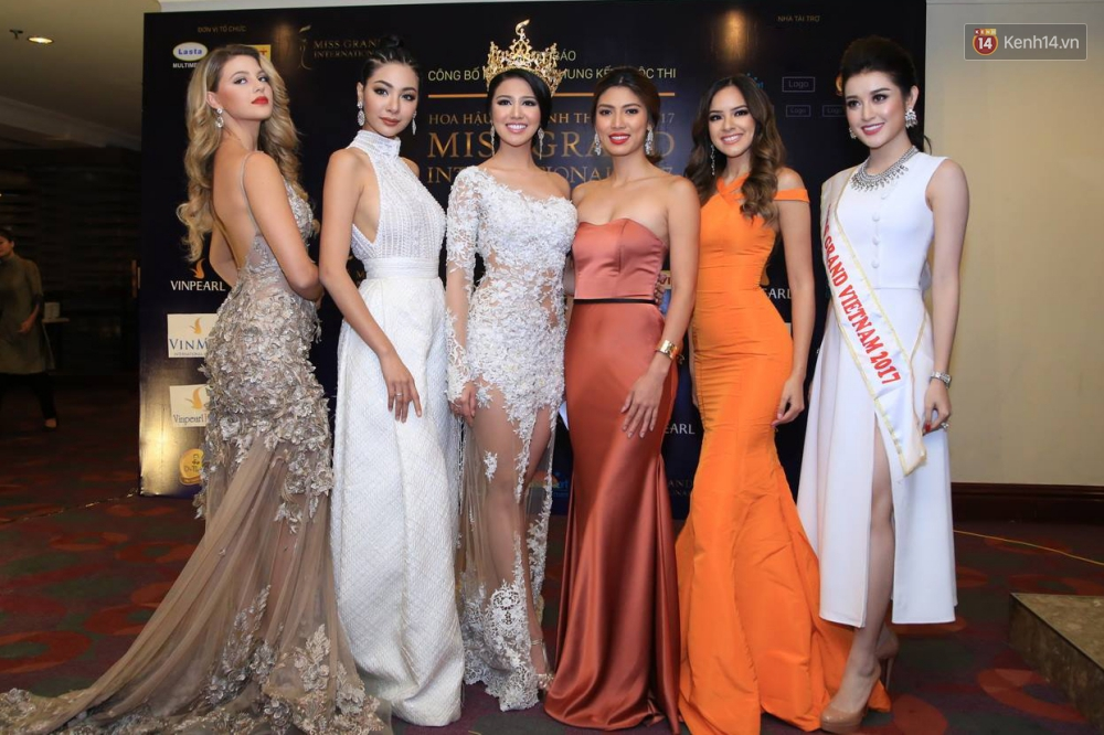 Sao Việt: Huyền My tự tin đọ nhan sắc với top 5 Hoa hậu Hòa bình Thế giới 2016
