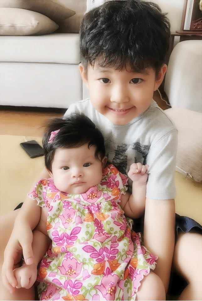 Hải Băng khoe ảnh con trai riêng của Thành Đạt xung phong chăm sóc em gái - Ảnh 5.