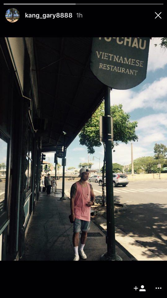 Biệt tăm suốt 1 tháng, cuối cùng Gary đã trở lại và khoe ảnh tại nhà hàng Việt Nam - Ảnh 3.