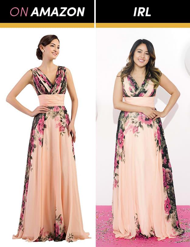 Những cô gái này đặt mua váy dạ hội giá chỉ vài trăm nghìn trên Amazon và kết quả bất ngờ-2