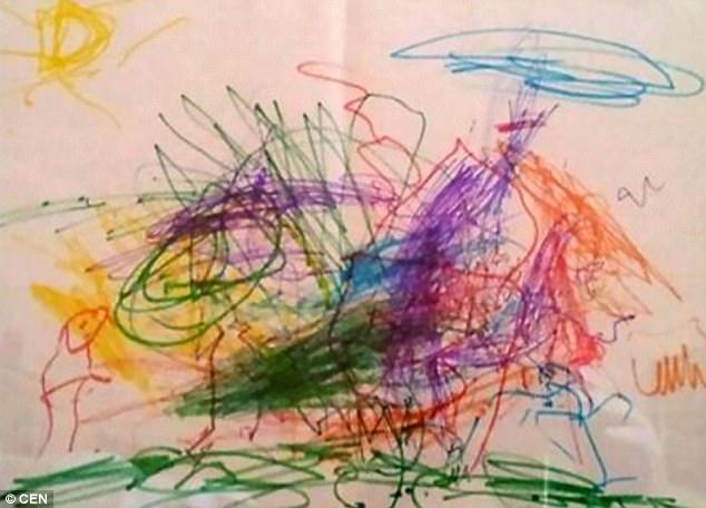Cậu bé tự kỷ vẽ tranh tiên đoán nơi mình sẽ chết, cuối cùng điều không may đã xảy ra 2