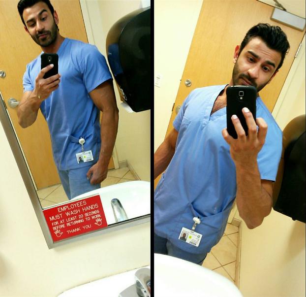 Người mẫu, diễn viên đẹp trai đã là gì; giờ mốt phải là nam bác sĩ, y tá đẹp đến rụng rời - Ảnh 15.
