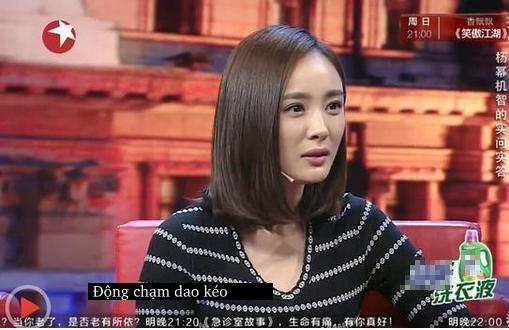 Dương Mịch đáp trả câu hỏi đã động chạm dao kéo cực xuất sắc và khôn khéo! - Ảnh 4.
