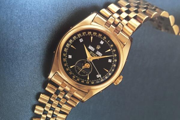 Đồng hồ Rolex của Vua Bảo Đại được bán đấu giá lên tới 69 tỷ đồng - Ảnh 2.