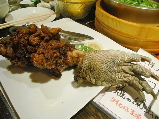 Nhà hàng kinh dị nổi tiếng với món thạch sùng tẩm bột, bọ rán hay caramel sâu - Ảnh 2.