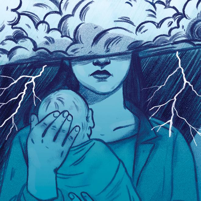 Những điều chồng cần làm để giúp vợ phòng tránh bị trầm cảm sau sinh - Ảnh 1.