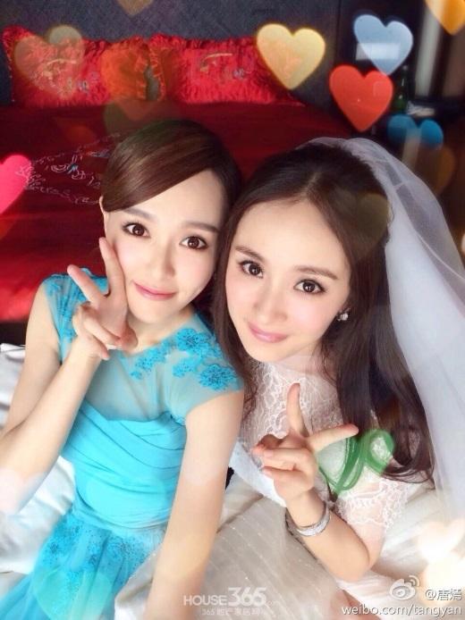 Đường Yên khiến fan đứng ngồi không yên chỉ vì đăng status gây hấn với Dương Mịch - Ảnh 3.