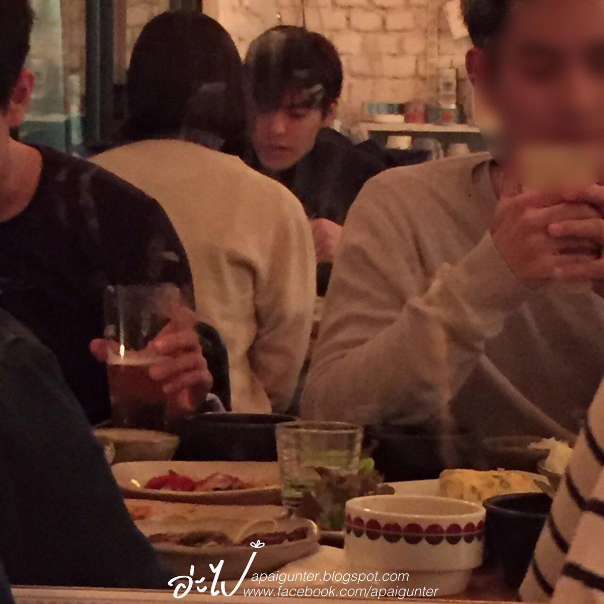 Sao Hàn: Fan quốc tế bắt gặp Kim Woo Bin và Shin Min Ah hẹn hò giản dị trong nhà hàng
