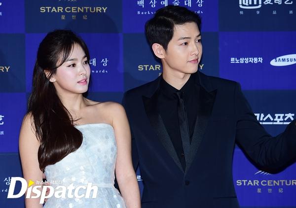 Đại diện lên tiếng về thông tin Song Hye Kyo và Song Joong Ki cưới chạy bầu! - Ảnh 1.
