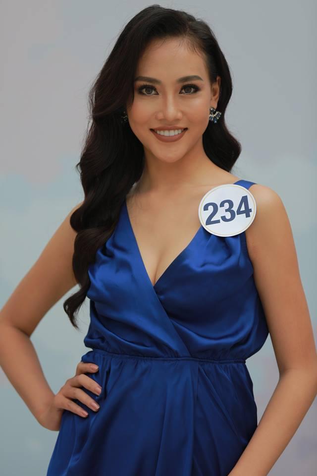 Hoàng Thùy - Mâu Thủy phong cách đối lập trong ngày thi phỏng vấn Hoa hậu Hoàn vũ - Ảnh 9.