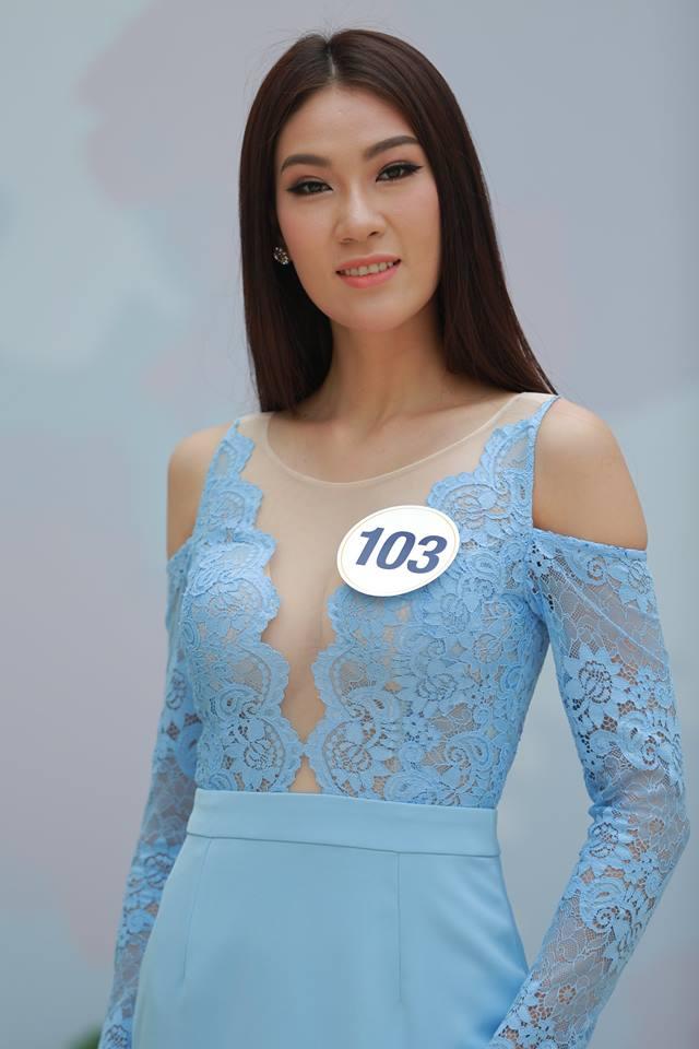 Hoàng Thùy - Mâu Thủy phong cách đối lập trong ngày thi phỏng vấn Hoa hậu Hoàn vũ - Ảnh 8.