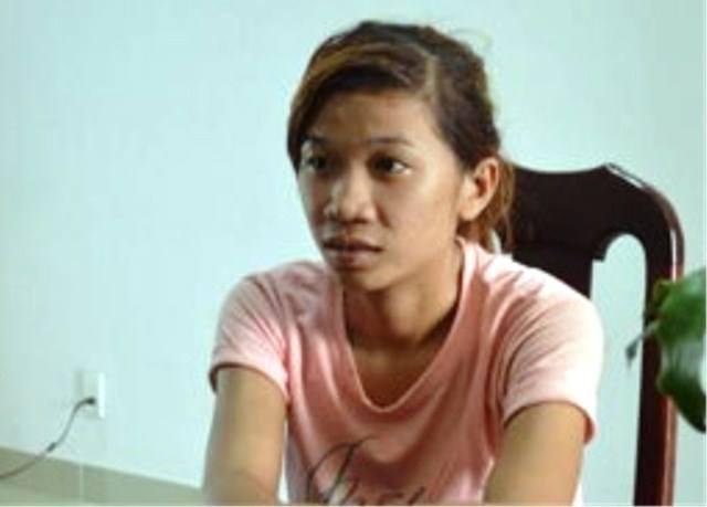 Đối tượng Nguyễn Thị Kiều Phương tại cơ quan điều tra