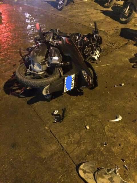 Thái Nguyên: Ô tô và xe máy va chạm trực diện khiến một người tử vong tại chỗ - Ảnh 2.