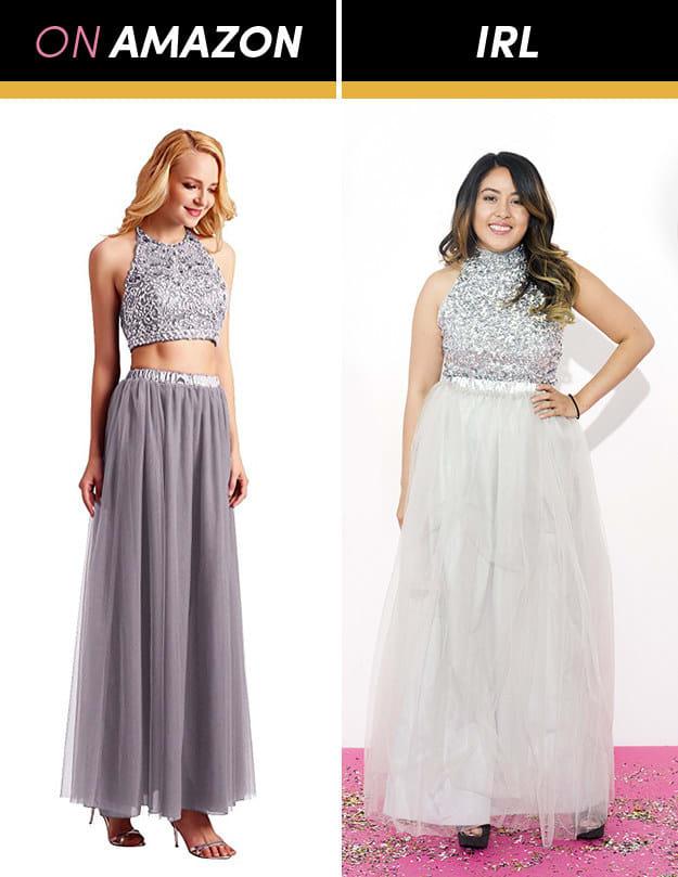 Những cô gái này đặt mua váy dạ hội giá chỉ vài trăm nghìn trên Amazon và kết quả bất ngờ-4