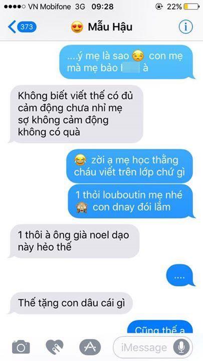 Hot nhất Facebook hôm nay: Chùm tin nhắn với con trai của bà mẹ Việt bá đạo nhất trái đất! - Ảnh 3.