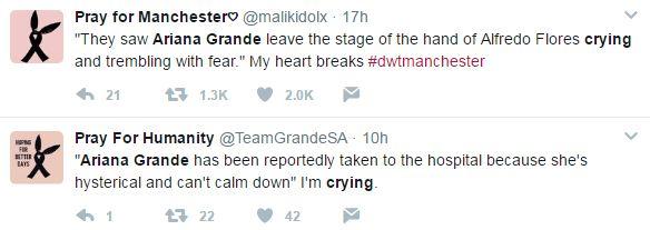 Ariana Grande gào khóc, muốn kết thúc sự nghiệp vì đã khiến người khác phải mất mạng? 2