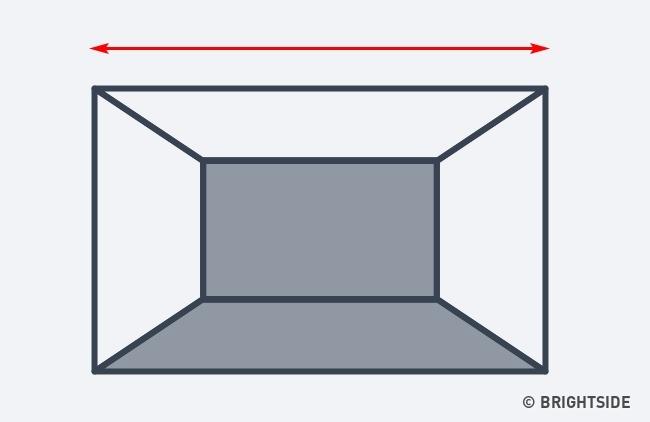 7 cách hô biến căn phòng của bạn trở nên rộng lớn hơn chỉ nhờ ảo ảnh thị giác - Ảnh 3.
